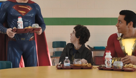 Супермен заходит на посадку