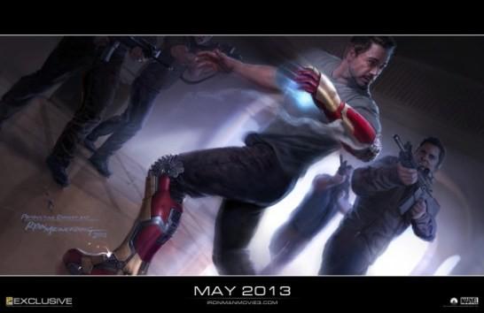 Свежий концепт-арт для «Железного человека 3»