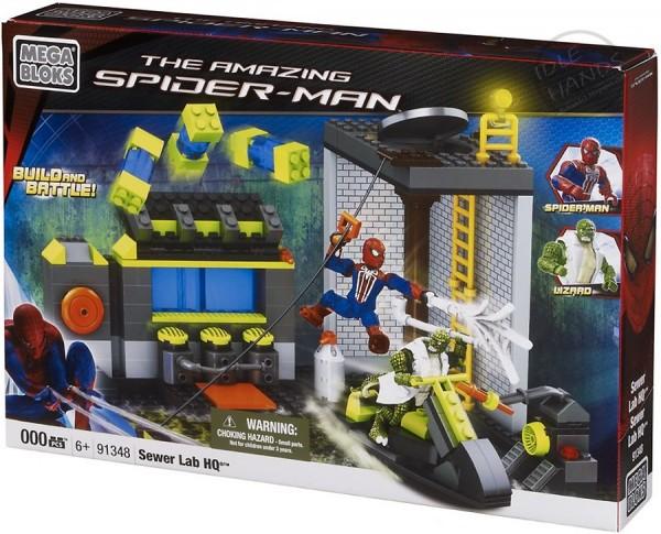 Новый человек паук игрушки