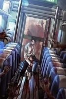Джеймс Ван сел на поезд в Пусан