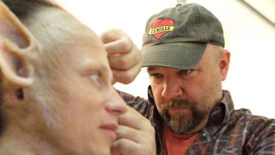 """Как формируется макияж для чудовищ телесериала """"Гримм"""" (Фото)"""