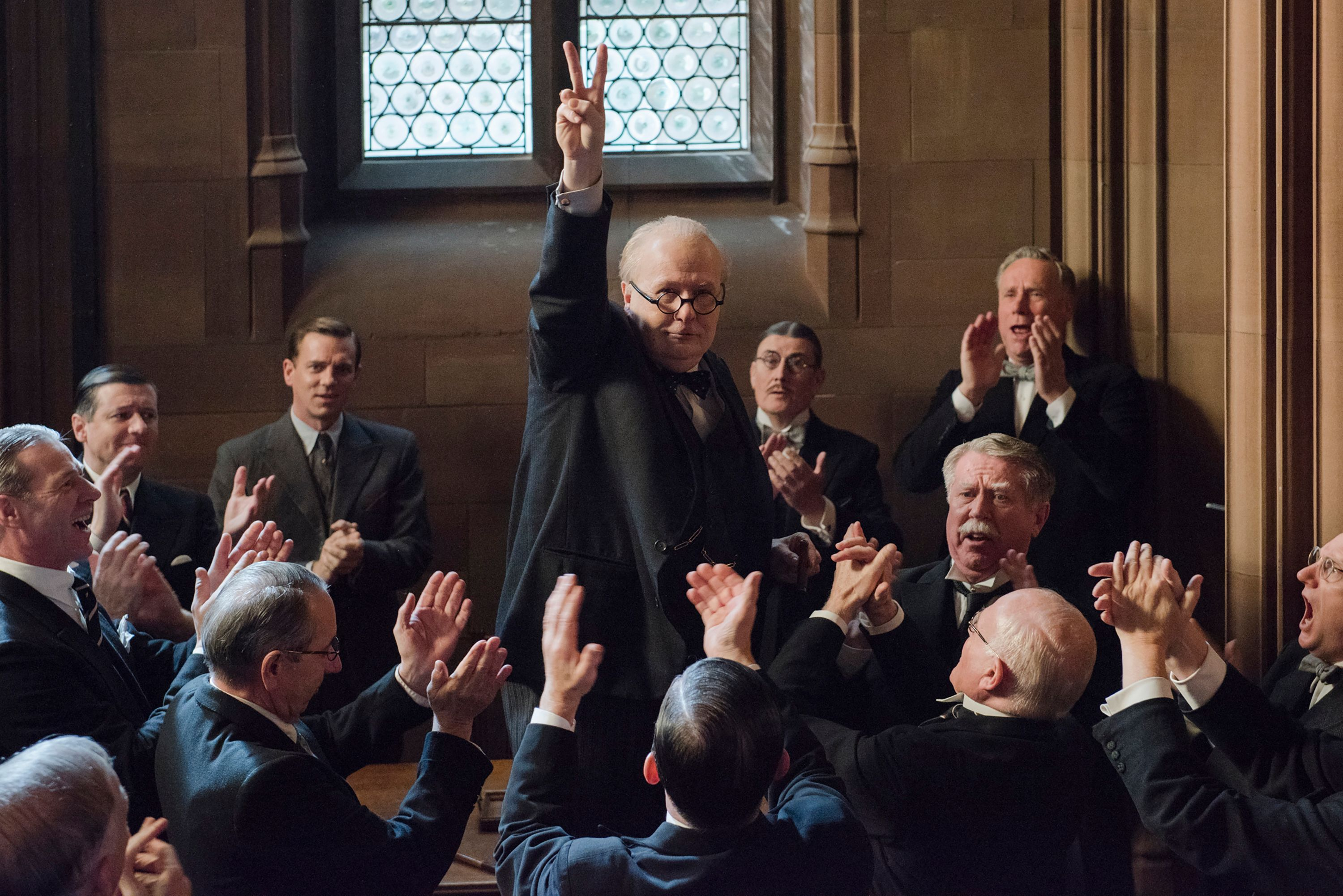 Darkest Hour Review As Rousing and Ferocious as Churchill
