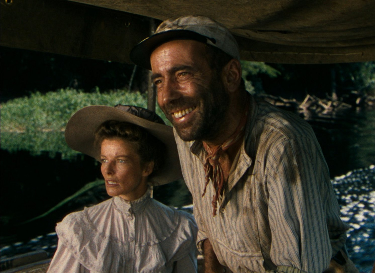 film reviews on the african queen The african queen (1951) the african queen (1951) full film hd - humphrey bogart, katharine hepburn, robert morley movies - duration: 2:11:42.