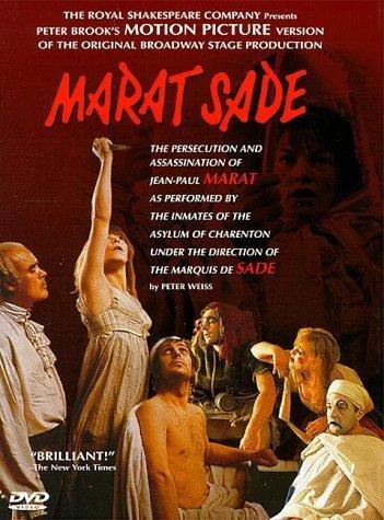 peter brook and marat sade Marat/sade ( marat / sade ) ( persecution and assassination of jean-paul marat ) [ non-usa format, pal, reg2 import - spain.