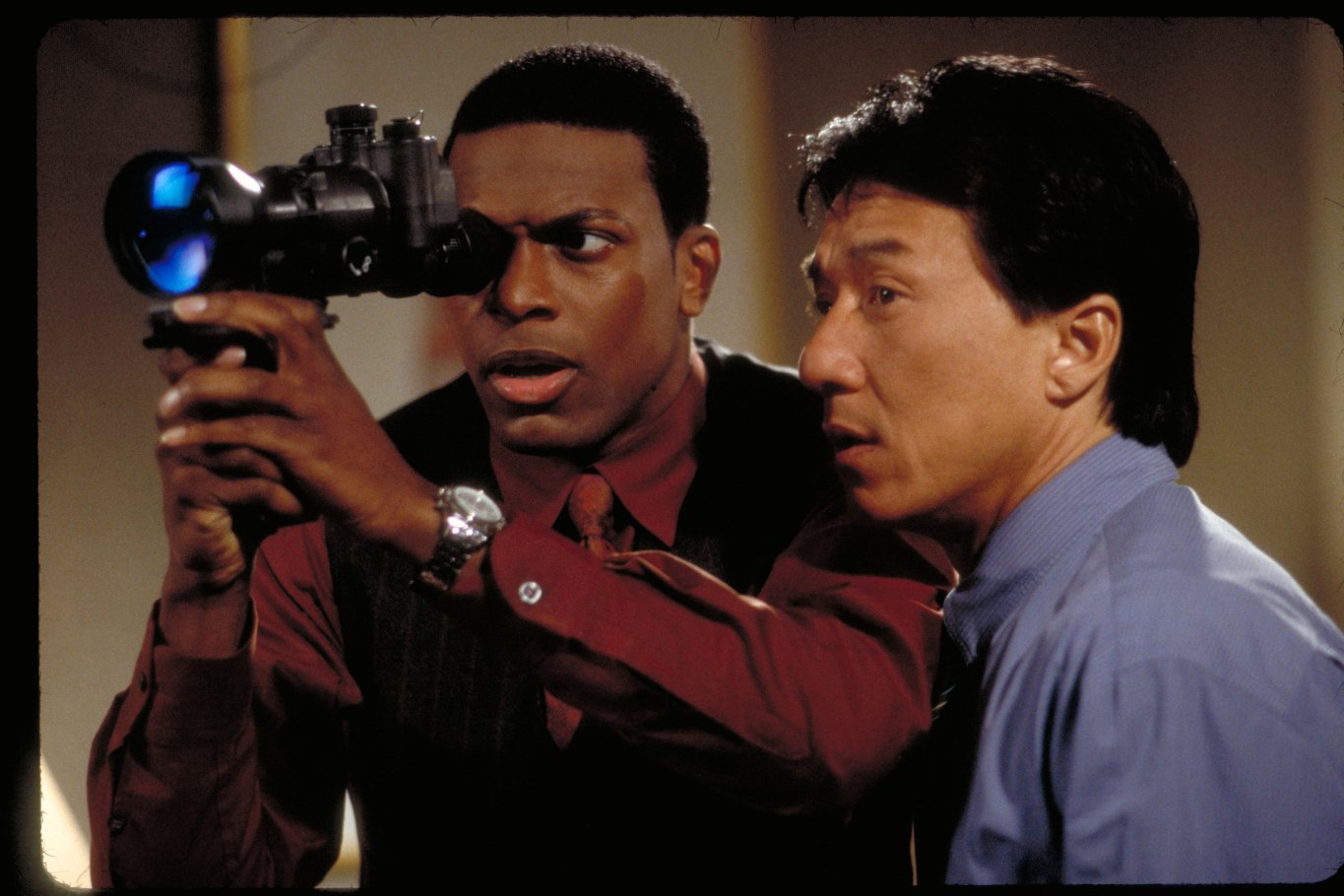 an analysis of rush hour an action movie starring jackie chan and chris tucker Get the full list of all jackie chan movies see who they starred with and what they are working on now.