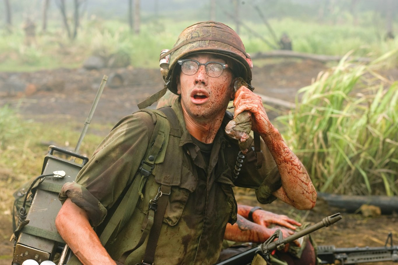 Tropic thunder movie music