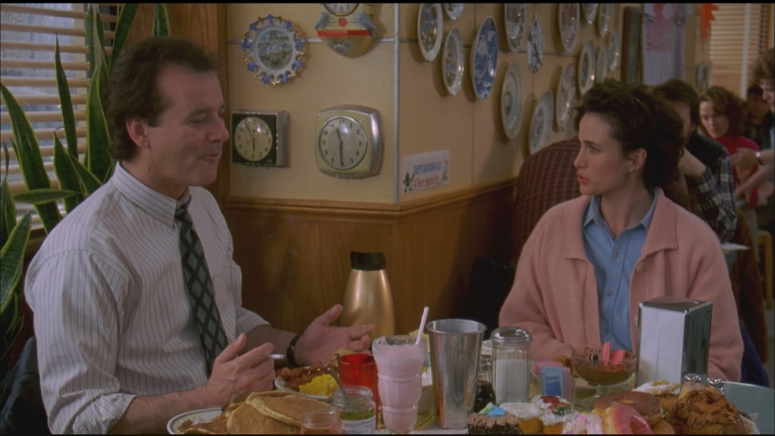 character analysis of phil connors in groundhog day a movie by harold ramis Funny scene with phil's old classmate 'groundhog day' is a 1993 american comedy film directed by harold ramis, starring bill murray and andie macdowell.