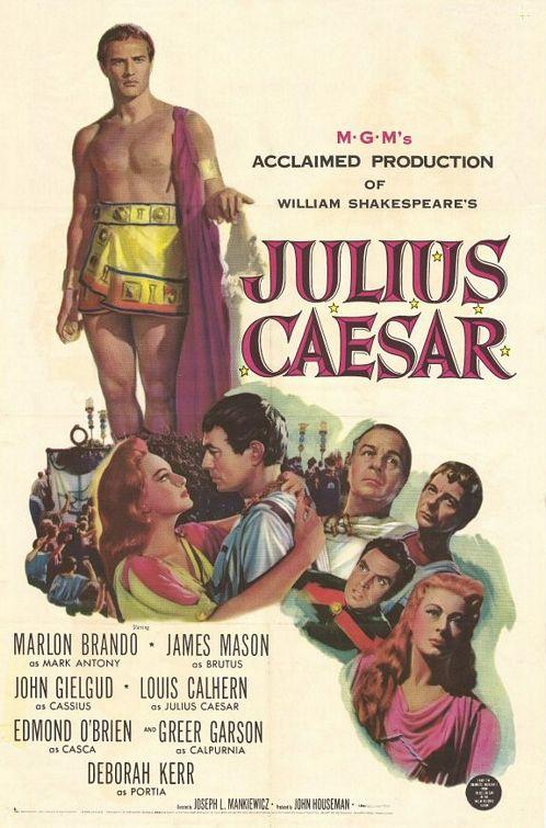 Юлий цезарь 1953