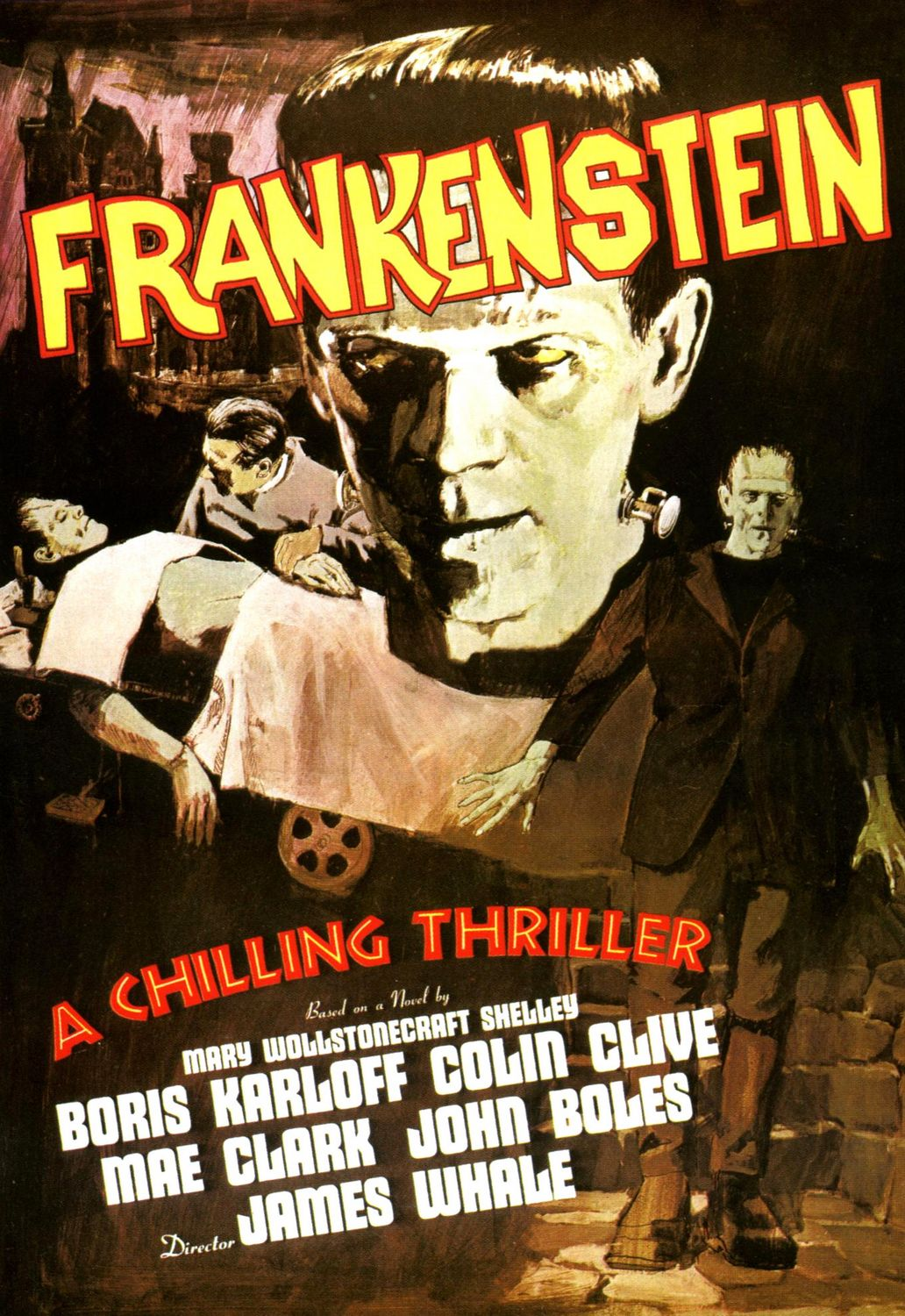 frankenstein a mixing of two eras