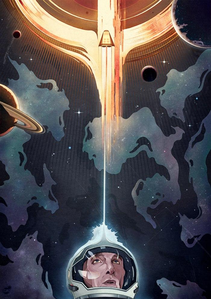 Interstellar poster 1080p