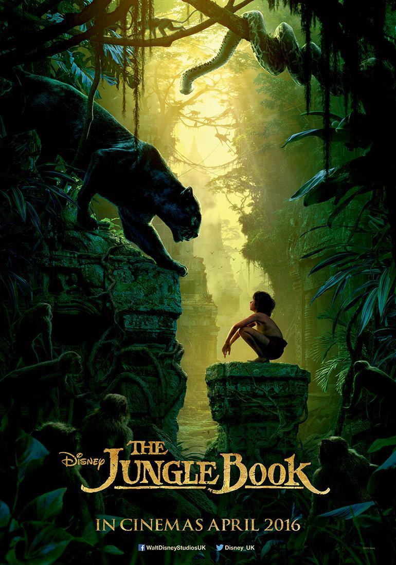 Постер - Книга джунглей: 770x1100 / 148.52 Кб