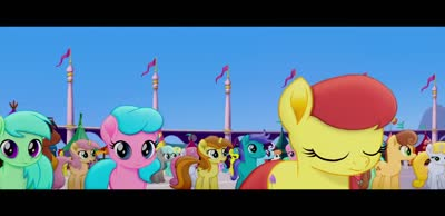 Трейлер My Little Pony в кино